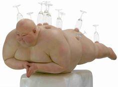 forma es vacío, vacío es forma: Mu Boyan - escultura, curiosidad