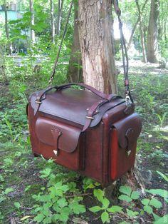 Купить сумка мужская (кофр) - разноцветный, натуральная кожа, ручная работа, сумка из натуральной кожи