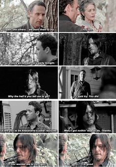 Conversa entre Rick, Daryl e Carol / Conversa entre Daryl e Aaron (Forget - 513) // Conversation between Rick, Daryl and Carol / Conversation between Daryl and Aaron (Forget - 513)