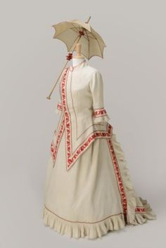 The Cosprop collection includes an extensive range of original and authentically reproduced period costume. Below is a selection of women's clothing and accessories from the collection -- 1870s