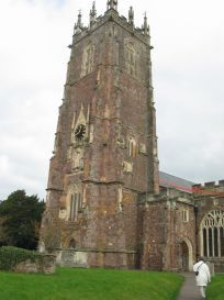 old cullompton england | Cullompton Church, with Lane's Aisle to the right