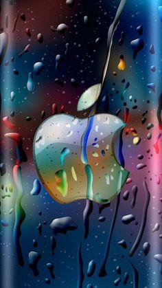 Apple Logo Wallpaper Iphone, Iphone Background Wallpaper, Love Wallpaper, Colorful Wallpaper, Mobile Wallpaper, Iphone Hintegründe, Iphone Logo, Apple Iphone, Homescreen Wallpaper