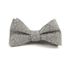 1bd156914950 Grey Bow Tie, Men's Floral Bowtie, Soft Grey Tone on Tone Design, Wedding Bow  Ties - Traditional Self-Tie or Pre-Tied