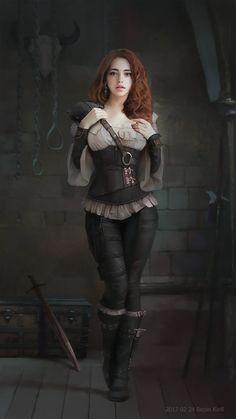 Girl арт, Kirill Repin, девушки