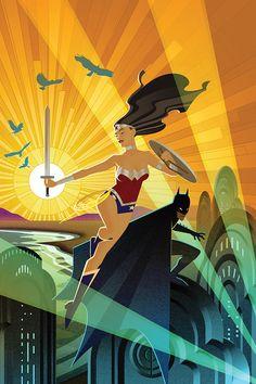Batman 75 Variants:  Wonder Woman #33 by Josh Middleton