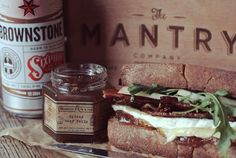BACON, BEER JELLY & BRIE SANDWICH