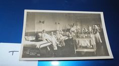RN HOSPITAL HASIAR ANTIQUE PHOTO POSTCARD