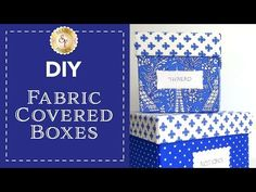 Pot holders make great gifts for wedding showers, birthdays, and hostesses. Fabric Covered Boxes, Fabric Storage Boxes, Fabric Boxes, Storage Bins, Diy Card Box, Diy Gift Box, Diy Box, Card Boxes, Easy Diy Jewellery Box
