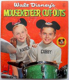Mouseketeers Cut-Outs, 1957