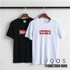 シュプリーム ヴィトン コラボ Tシャツ ボックスロゴ supreme 韓国風 tシャツ