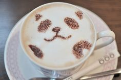 wish i could have a panda coffee every morning!