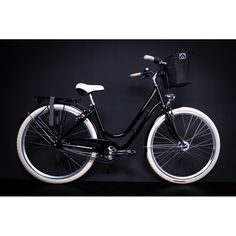 "28"" Zoll Alu MIFA Damen Fahrrad City Bike Shimano 7... Bicycle, Motorcycle, Outdoor, Stitches, Bicycles, Black, Outdoors, Bicycle Kick, Bike"