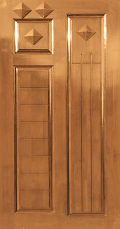 Burma Teak Wood Door in beautiful designs and in all sizes. Wooden Door Design, Main Door Design, Wood Design, Pooja Room Door Design, Door Design Interior, Teak Furniture, Modern Furniture, Main Entrance Door, Doors Online