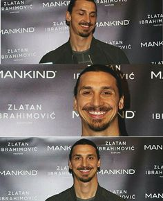 O M F G HIS SMILEEE  #Zlatanstyle #zlatanibrahimovic #zibra #daretozlatan #kingzlatan