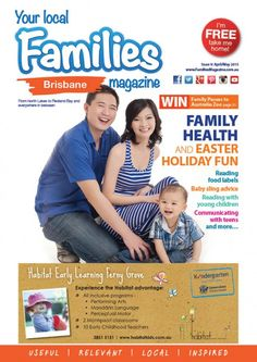#Families #Magazine - #Brisbane's 9th issue is ready for your #reading pleasures! SHARE! Our April/May #magazine is the #Family #Health and #Easter #Holiday #Fun issue. Want to learn about what all those #food #labels mean? Need help choosing a #baby #sling? Do you want to learn more about reading with young #children, or communicating with #teens? Check out this issue for all that and more! Simply visit our #website and click the magazine to read TODAY.