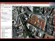 Aula de AutoCad - Google Earth (Escala Real de terreno)