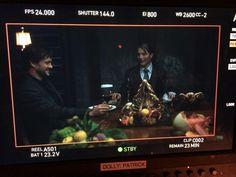 Twitter / lorettaramos: Game faces, gentlemen! #Hannibal  #HannibalFinale NBCHannibal pic.twitter.com/2VDtSInV5r