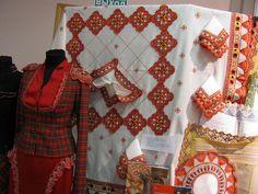 Michailov color bobbin lace Russia