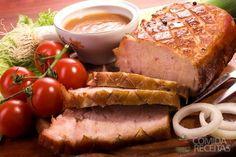 Receita de Lombo assado tradicional em receitas de carnes, veja essa e outras receitas aqui!
