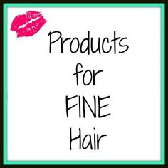 Products for Fine Ha