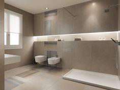 illuminated shelf piastrelle per bagno Base