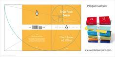 La sección áurea en la composición y maquetación de libros - Aplicación en el tamaño de libros de la colección Penguin Classics
