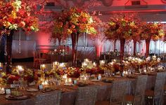 Elegant Fall Tablescape. Omg... Not having a fall wedding but this is beautiful! Wedding Reception Decorations Elegant, Desi Wedding Decor, Wedding Centerpieces, Wedding Ideas, Centerpiece Ideas, Wedding Receptions, Reception Ideas, Wedding Themes, Wedding Dresses