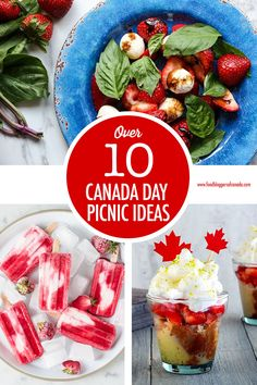 Host a red and white Canada Day picnic or potluck with these 11 scrumptious, outdoor friendly recipes! Potluck Dishes, Potluck Recipes, Veggie Dishes, Summer Recipes, Potluck Ideas, Canadian Dishes, Canadian Cuisine, Canadian Food, Canadian Recipes