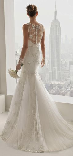 Rosa Clara 2015 Bridal Collection Wedding Dress #vestido #noiva