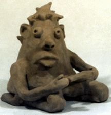 A teacher made this detailed site of information on firing clay and how to teach kids to use it.  Pinch Pot People Home Page