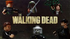 1) someone has way too much time on their hands! 2) This is AWESOME! Walking Dead Season 5 Lego Trailer!