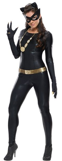 Super Deluxe Sexy Catwoman Costume - Batman Costumes