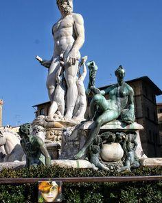 300 cd around the world! Italy – Firenze – Fontana del Nettuno – Cd 135/300