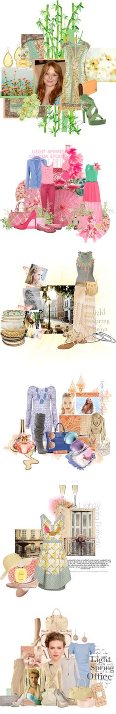 """""""Light Spring"""" by spicemarket ❤ liked on Polyvore"""