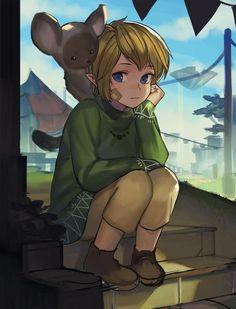 Young Skyloft Link | #Skyward_Sword
