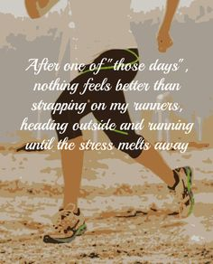 My first day of running...stressed beyond belief and decided to get out of the house and try running.  Came back and it was like a new day.