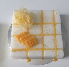 Artfully-designed Scented Soap Cake, a handmade produced aromatic glycerin soap cake which can be your table centerpiece or you could give it as a unique gift.