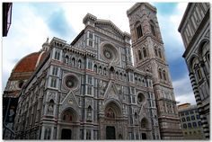 the Duomo in Florence; this cathedral was one of the last things I saw before leaving for the US. I sat at a cafe looking at the duomo eating a piece of pizza and drinking a cappuccino. Sequoia National Park, National Parks Usa, Transamerica Pyramid, Gothic Buildings, Light Pollution, Sistine Chapel, Florence Italy, Travel Goals, Tower Bridge