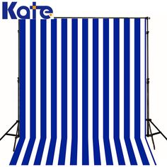 Photo Background Blue And White Strips Wall Baby Studio  Photo Backdrops Background
