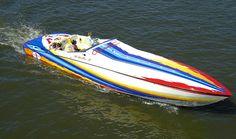 Cigarette Boat Miami