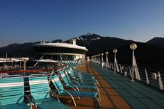 Scenic Alaska from Deck Ten of Rhapsody of the Seas.