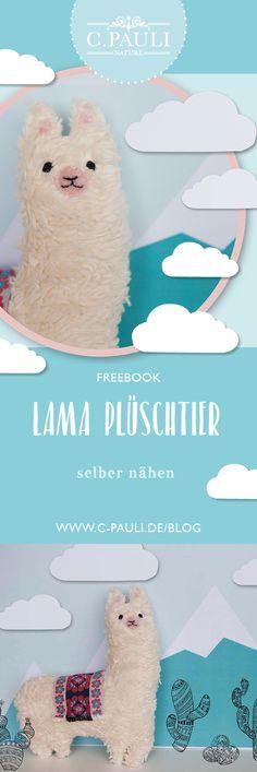 Lama Pedro – DIY Stofftier aus Plüsch | C.Pauli Nature Blog