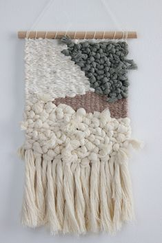 New Business Ideas, Boho Wall Hanging, Tapestry Weaving, Thoughtful Gifts, Wall Hangings, Lovers Art, Fiber Art, Dyi, Macrame