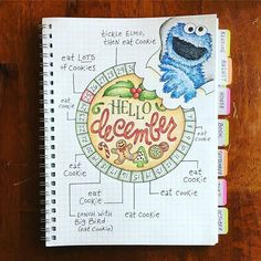 Love the doodle and layout