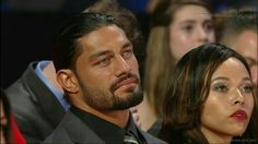 Roman With his wife.. #HallOfFame
