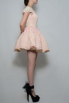 Silvia Bours - Pinky Dress, $800.00 (http://www.silviabours.com/pinky-dress/)