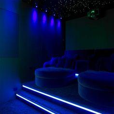 cinema room with snuggle chairs :)