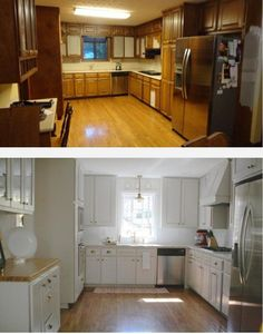 Best Before And After Of Cabinet Refacing!