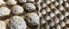 Kokosové koule v čokoládě | NejRecept.cz Muffin, Cookies, Chocolate, Breakfast, Desserts, Crack Crackers, Morning Coffee, Tailgate Desserts, Deserts