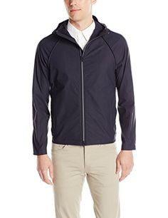 THEORY Theory Men'S Channing Deaver Windbreaker. #theory #cloth #